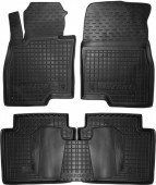 Avto-gumm Коврики в салон для Mazda 6 '13-, резиновые черные