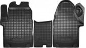 Avto-gumm Коврики в салон для Opel Vivaro, резиновые черные