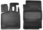 Avto-gumm Коврики в салон для Smart 451 '07-14 Fortwo, резиновые черные