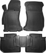 Avto-gumm Коврики в салон для Subaru Forester '13- , резиновые черные