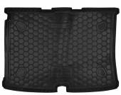 Avto-gumm Коврик в багажник Citroen Nemo / Bipper / Fiorino / Qubo '08-, резиновый черный