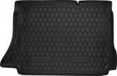 Avto-gumm Коврик в багажник Daewoo Lanos '97- Хетчбэк, резиновый черный