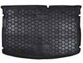 Avto-gumm Коврик в багажник Kia Rio '11- Хетчбэк MID без органайзер., резиновый черный