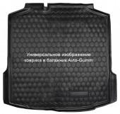 Avto-gumm Коврик в багажник Mercedes Viano / Vito (W638) '04-, резиновый черный