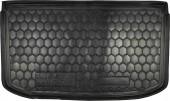 Avto-gumm Коврик в багажник Nissan Micra '10-, резиновый черный