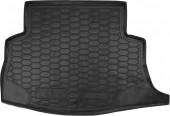 Avto-gumm Коврик в багажник Nissan Leaf '10-, резиновый черный