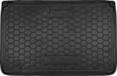 Avto-gumm Коврик в багажник Renault Captur '13- верхняя полка, резиновый черный