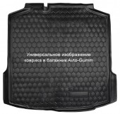 Avto-gumm Коврик в багажник Renault Dokker '12-, резиновый черный