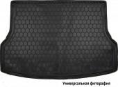 Avto-gumm Коврик в багажник Skoda Fabia lll '14- Универсал, резиновый черный