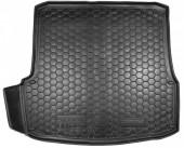Avto-gumm Коврик в багажник Skoda Octavia A5  '04-13 Лифтбэк, резиновый черный