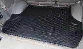 Avto-gumm Коврик в багажник Toyota Land Cruiser 100 '98-, резиновый черный
