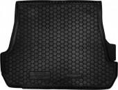 Avto-gumm Коврик в багажник Toyota Land Cruiser 200 '07-, 5мест резиновый черный