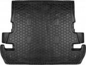 Avto-gumm Коврик в багажник Toyota Land Cruiser 200 '07-, 7мест резиновый черный