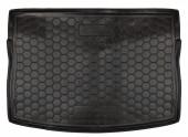 Avto-gumm Коврик в багажник VW Golf 7  '12- Хетчбэк, резиновый черный