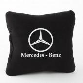 Autoprotect Подушка с логотипом Mercedes Benz, черная