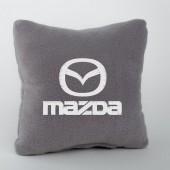 Autoprotect Подушка с логотипом Mazda, серая