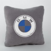 Autoprotect Подушка с логотипом BMW, серая