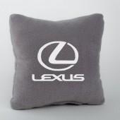 Autoprotect Подушка с логотипом Lexus, серая