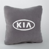 Autoprotect Подушка с логотипом Kia, серая