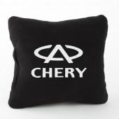 Autoprotect Подушка с логотипом Chery, черная