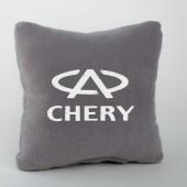 Autoprotect Подушка с логотипом Chery, серая