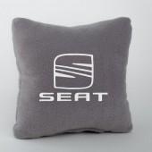 Autoprotect Подушка с логотипом Seat, серая