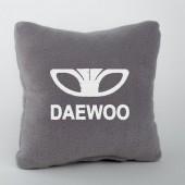 Autoprotect Подушка с логотипом Daewoo, серая