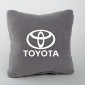Autoprotect Подушка с логотипом Toyota, серая