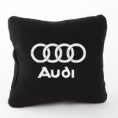 Autoprotect Подушка с логотипом Audi, черная