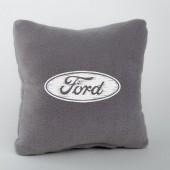 Autoprotect Подушка с логотипом Ford, серая