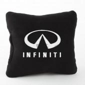 Autoprotect Подушка с логотипом Infinity, черная