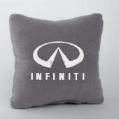 Autoprotect Подушка с логотипом Infinity, серая