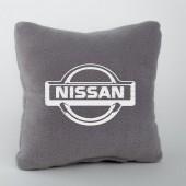 Autoprotect Подушка с логотипом Nissan, серая