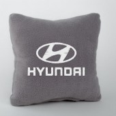 Autoprotect Подушка с логотипом Hyundai, серая