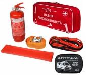 Autoprotect Набор автомобилиста, сумка стандартная красная,  6 предметов + перчатки в подарок!