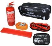 Autoprotect Набор автомобилиста, сумка стандартная черная, 6 предметов + перчатки в подарок!