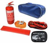 Autoprotect Набор автомобилиста, синяя сумка, 6 предметов + перчатки в подарок!