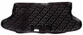L.Locker Коврик в багажник для Chevrolet Lacetti '03-12 хетчбэк, полимерный пластик черные