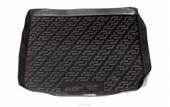 L.Locker Коврик в багажник для Ford Focus 2 (II) '04-08 универсал, полимерный пластик черный