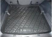 L.Locker Коврик в багажник для Ford S-Max '06-, полимерный пластик черный