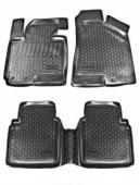 L.Locker Коврики в салон для Kia Sportage 10-, полиуретановые черные