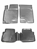L.Locker Коврики в салон для Hyundai Getz '02-11, полиуретановые черные