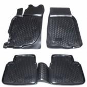 L.Locker Коврики в салон для Mazda 6 '02-08, полиуретановые черные