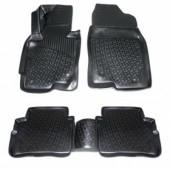 L.Locker Коврики в салон для Mazda CX 5 '12-, полиуретановые черные