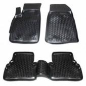 L.Locker Коврики в салон для Mazda CX 7 '06-12, полиуретановые черные