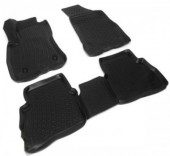 L.Locker Коврики в салон для Fiat Doblo '15-, полиуретановые черные