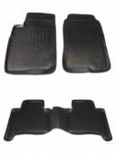 L.Locker Коврики в салон для Lexus GX 470 '02-09, полиуретановые черные