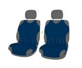 Koszulki Майки автомобильные универсальные передние темно-синие, 2шт