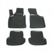 L.Locker Коврики в салон для Audi A3 '04-12, полиуретановые черные