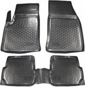 L.Locker Коврики в салон для Ford Focus '02-12, полиуретановые черные